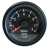 Simoni Racing TM/B Contagiri 0-8000 RPM, Nero