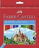 Faber-Castell Castle - Lápiz de color (Madera, Multi), multicolor...