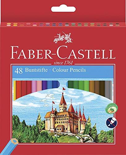 Faber-Castell 120148 - Eco Farbstifte, 48er Kartonetui inklusive Spitzer