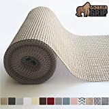 Gorilla Grip Original Drawer and Shelf Liner, Non Adhesive Roll, 12 Inch x 20 FT, Durable and...