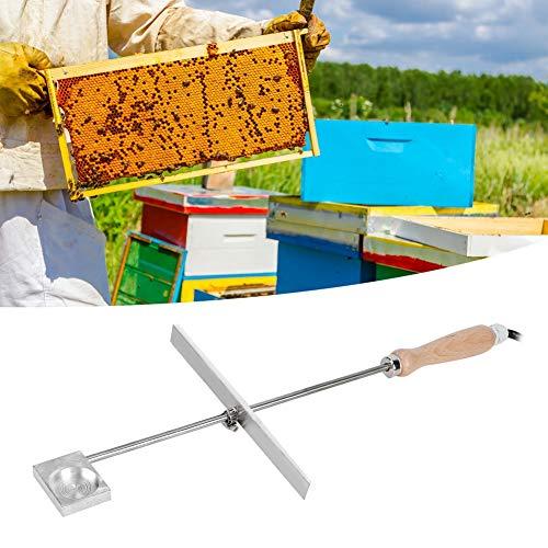 Aunmas Bijenvaporizer, 12 V, 150 watt, oxalzuur, varroa, bijenstok, mijt, veilige behandeling, verwarming, verdamper, imkerei, begasingsgereedschap voor tuin imkers