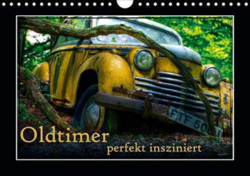 Oldtimer perfekt insziniert (Wandkalender 2021 DIN A4 quer)