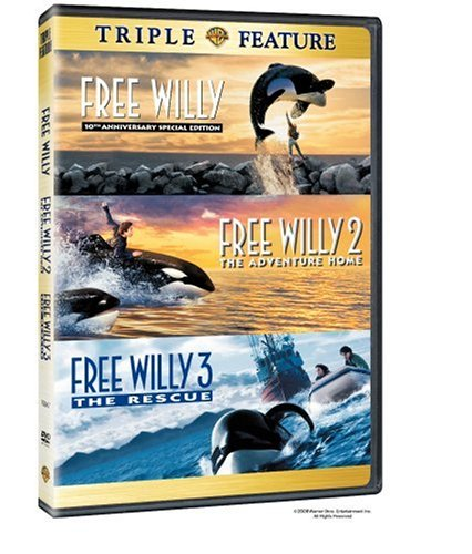 Free Willy 1-3 [DVD]  [US Import]