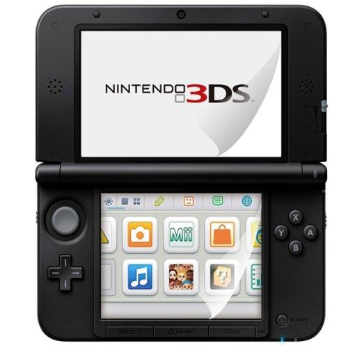 kwmobile 6X Folie kompatibel mit Nintendo 3DS XL - Full Screen Tablet Schutzfolie klar