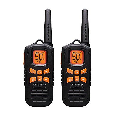 Olympia R500 Rugged Waterproof Two-Way Radios, 42-Mile Range