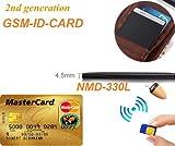 Nuevo micrófono y Auricular Espía gsm Invsible ID Card Bluetooth inalámbrico Micro...