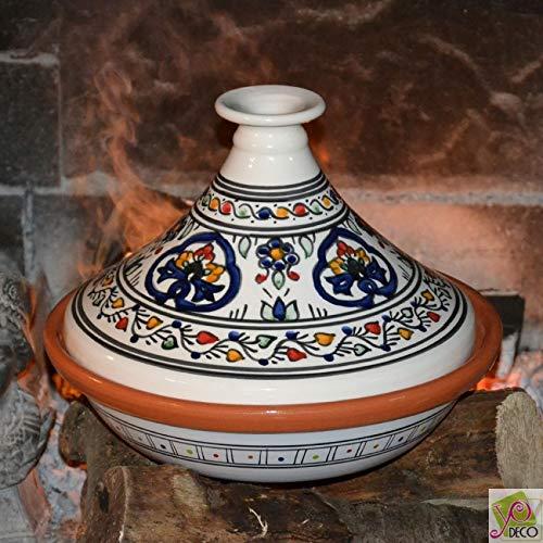 Tajine de cuisson Sidi Bou - D 31 cm