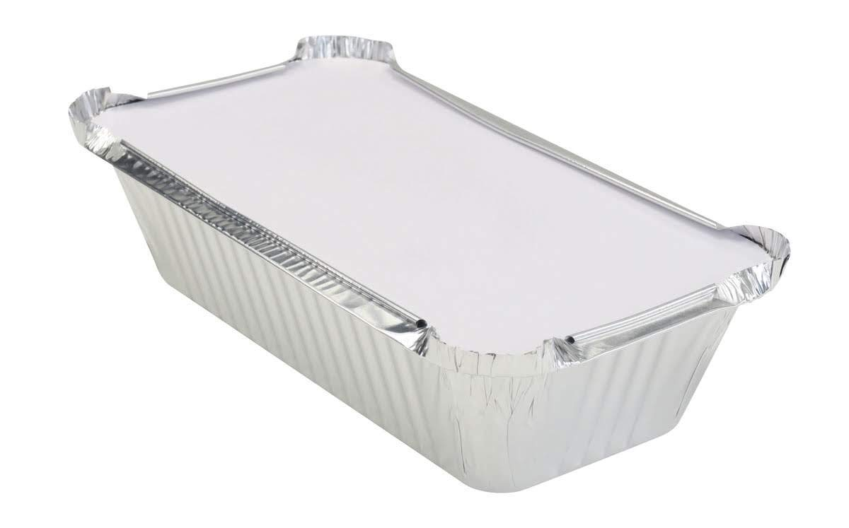 KitchenDance 1-1 2 Pound Disposable Pans with Loaf Colored Lids Popular products Charlotte Mall