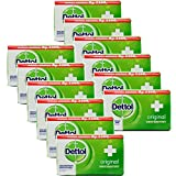 Dettol Anti-Bacterial Hand and Body Bar Soap, Original, 110...