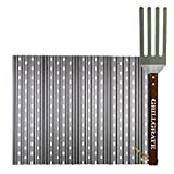 Replacement Grill Grates for Weber Spirit 310 Series and Genesis Silver B with GrateTool