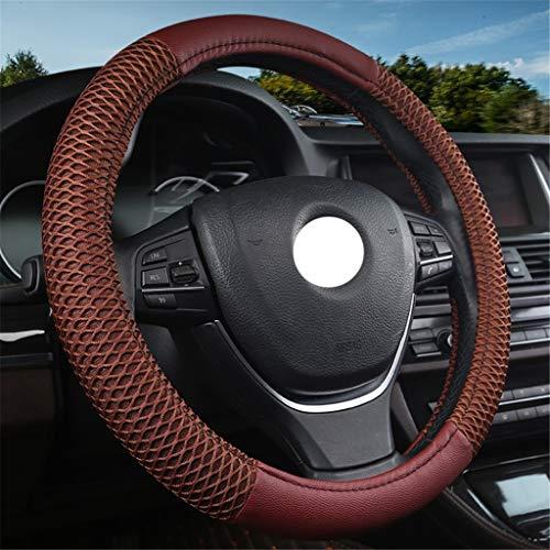 JIAO 38cm Mode Volant Housse en Cuir de Fibre + matériau Respirant résistant à l'usure Transpirant Respirant FR (Color : B, Size : 38cm/14.96inch)