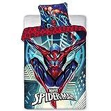 Juego de funda de edredón y fundas de almohada Spiderman