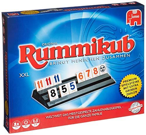 Jumbo Spiele - Original Rummikub XXL - Gesellschaftsspiel - Ab 7 Jahren
