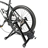 PEXMOR Magnetic Bike Trainer Stand w/ 5 Speed Level,Wire Control Adjuster,Noise Reduction & Front...
