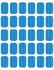 NewL Abs Trainer Vervanging Gel Sheet Abdominale Toning Riem Spier Toner Ab Trainer Accessoires 30 stks Gel Sheets Voor Gel Pad (2 stks/packs, 15 packs/doos)
