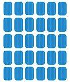 NewL Abs Trainer Lámina de gel de recambio para tonificar el cinturón abdominal, tóner muscular, accesorios para abdominales(2 unidades/paquetes, 15 paquetes/caja)