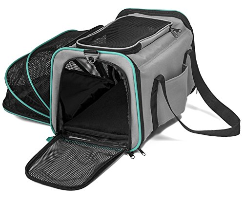 Pawdle Expandable and Foldable Pet Carrier...