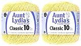 Coats Crochet 2-Pack - Aunt Lydia Cro Cottn Maize (154.0423)