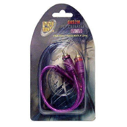 GSI GXS2M Y Adapter 2 Male (Purple)