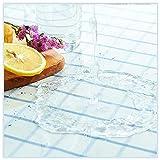 TMGJ Mantel Impermeable De PVC Transparente,Mantel Transparente,Comedor Mantel,Impermeable Resistente,Puede Utilizar En Restaurantes,Salas De Estar,Etc.(Color:1mm,Size: 60x110cm)