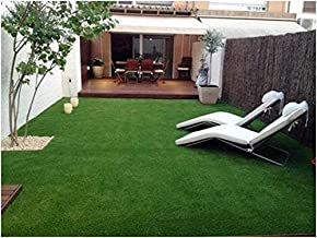 Yazlyn Collection High Density, Artificial Grass, Artificial Grass Carpet, Mat for Balcony, Lawnmat, Floor Mat, Doormat, Mat for Terrace, Roof Mats, Garden Mats with With 4 layers Protection (3.3 X 10 Feet)