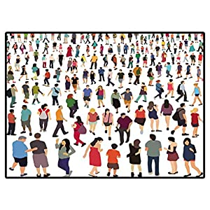Area Rug People Vector Illustration 290500577 01 Rugs for Christmas and Thanksgiving 6.6 X 10 Ft