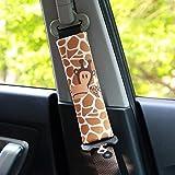PUSHIDE 2PCS Almohadillas para cinturón de seguridad Auto de seguridad Cinturón Correa para el hombro Protector Pads