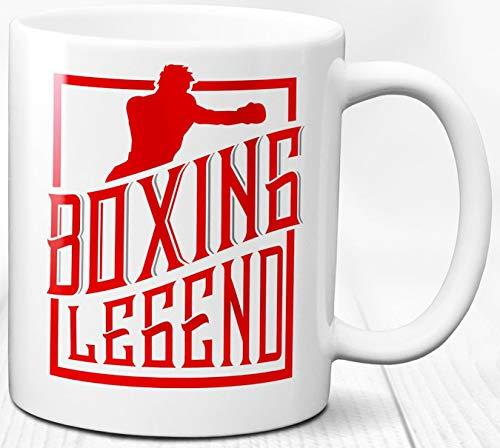 Boxlegende Kaffeebecher legendäre Boxer Geschenk 330 ml Keramik Teetasse