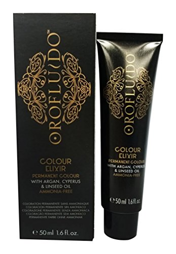Orofluido Colour Elixir Tinte Permanente, Tono 7.3 Golden Blonde - 50 ml