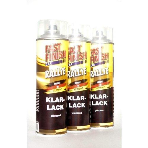 FAST FINISH CAR RALLYE 1K KLARLACK glänzend 3 x 500 ml 292859/3