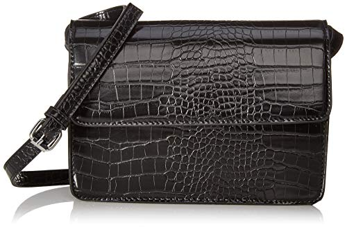 PIECES NOS Damen Pcjulie Cross Body Noos Umhängetasche, Schwarz (Black), 2x14x22 cm