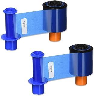 Fargo 45200 YMCKO Color Ribbon for DTC4500 & DTC4500e Printers 500 Prints - 2 Pack