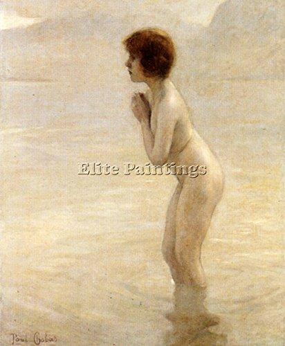 Elite-Paintings CHABAS PAUL BRUMA MATINALE ARTISTA QUADRO DIPINTO OLIO TELA A MANO MAESTRI ARTE 120x100cm alta qualita