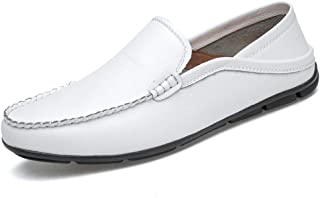 YangFan Chaussures en Cuir, Chaussures de Sport, Travail, Chaussures décontractées pour Hommes, Chaussures de Bateau Anti-...