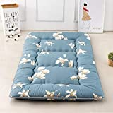 abtsica materasso giapponese da pavimento materasso futon ragazzi ragazze letto pieghevole in memory foam materasso da campeggio lettino da terra tatami divani e divani coprimaterasso doppia,d,queen