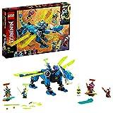 LEGO NINJAGO IlCyber-dragonediJay, Set da Costruzione con le Minifigure di Jay, Nya e Unagami, Figure di Azione di Prime Empire, 71711
