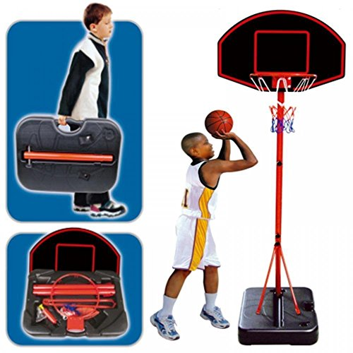 Generic DYHP-A10-CODE-4694-CLASS-1- BALL CARRY CASE SE SET HOOP T HOO LARGE PORTABLE CHILDRENS NG BASK FREE STANDING HILDR BASKETBALL NET PORTABL -NV_1001004694-HP10-UK_1629