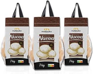 PATATA NUEVA, 100% Nacional, 3 mallas de 2kg