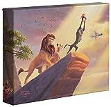 Thomas Kinkade Disney The Lion King 8 x 10 Gallery...