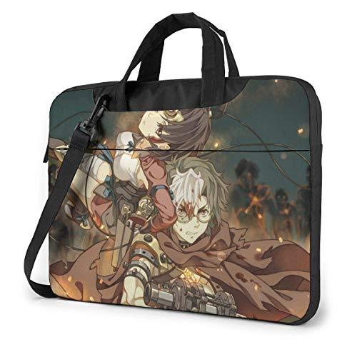 shenguang Anime Kabaneri of The Iron Fortress Laptop Shoulder Bag Tote Bag Tablet Bag Lightweight Fashion