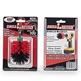 Drill Power Scrubber Mini tamaño Drillbrush Poder depurador de cerdas duras de nylon friega el cepillo