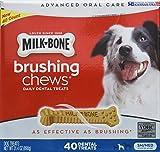 Milk Bone Brushing Chews (Small/Medium) 40 Dental Treats 31.4Oz By...