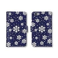 【ノーブランド品】 Qua phone KYV37 スマホケース 手帳型 ノルディック柄 ドット柄 ネイビー 紺色 かわいい おしゃれ 携帯カバー KYV37 ケース 携帯ケース キュアフォン