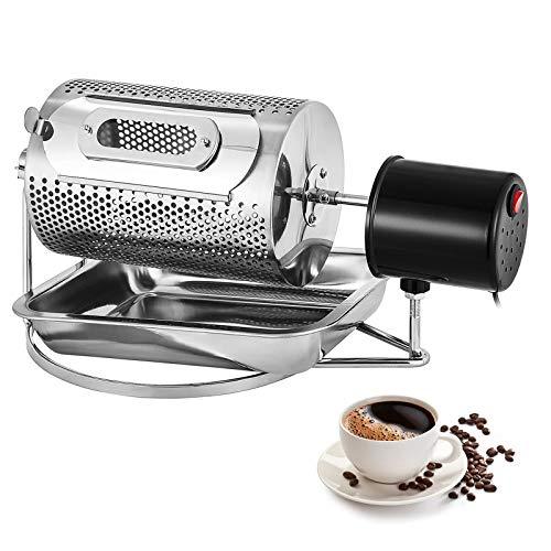 Moracle Tostadores de Café de Gran Capacidad 220V Tostadora Granos de Café Máquina para Hornear Café en Grano de Acero Inoxidable (40W 600G)