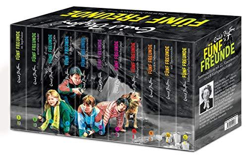 Fünf Freunde - Sammeledition. Alle 21 original Abenteuer im Schmuckschuber - plus acht Kurzgeschichten!: Mit Serienpreisvorteil: 11 Bände à € 5,00 für nur € 49,99 (statt € 55,-)