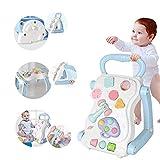 Rabbfay Bebé Andadores Y Actividad Centrar Multifuncional para Niños Actividad...
