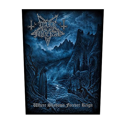 DARK FUNERAL - Where Shadows forever Reign - Rückenaufnäher / Backpatch