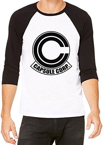 Capsule Corp T-Shirt Baseball Homme Femme Large