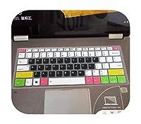 for Lenovoヨガ530 530s 530-14IKBヨガ730730S 530 IdeaPad 330s 530s Miix 630の新しいソフトシリコンキーボードカバースキンプロテクター-candyblack-