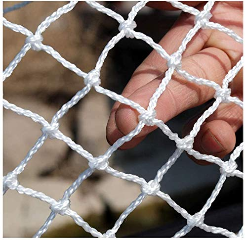 Kinder-Sicherheitsnetz, Dekornetz, Schutznetz, Zaun, Klettern, gewebtes Seil, LKW, Ladung, Anhänger, Netz, Netz, für Geländer, Balkon, Geländer, Treppe, Spielplatz 1×5m(3.3*16.4ft) 3 cm Maschenweite